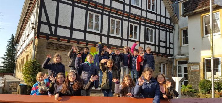 Klassenfahrt des 4. JG nach Tecklenburg