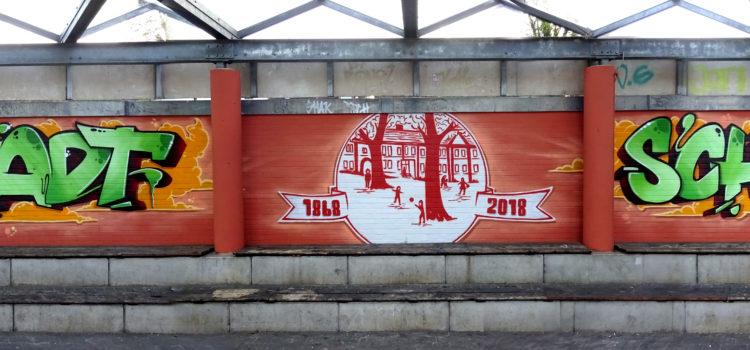 Graffiti-Kunst an der Altstadtschule
